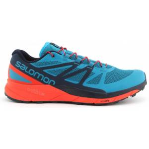 Salomon Sense Ride løpesko herre L40484800 Fjord Blue/Cherry 41 1/3 2018