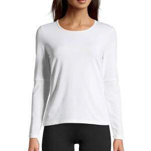 Casall Classic Iconic Long Sleeve - White