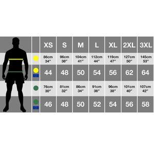 Result Resultatet Mens Tech3 Sport Anti nuppedannelse vindtett pustende Fleece Svart/Orange 2XL