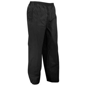 Portwest Mens klassiske regn bukse (S441) / bukser Svart XL
