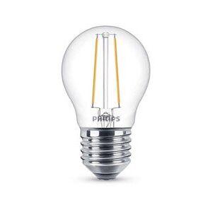 E27 Philips Filament E27 LED-lyspærer 2,7W (25W) (Lustre, Klart, Kan dimmes)