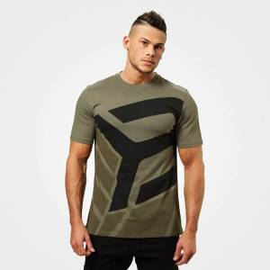 Better Bodies Bronx T-Shirt - Washed Green