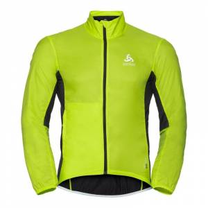 Odlo Men's Jacket Fujin Grønn