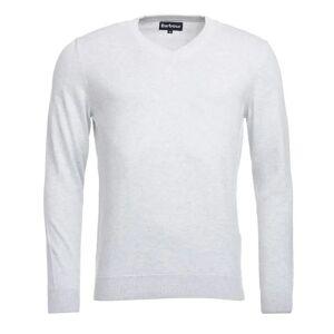 Barbour Pima Cotton V-Neck Men's Hvit