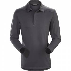 Arc'teryx Captive Longsleeve Polo Men's Grå
