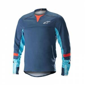 Alpinestars Drop Pro Long Sleeve Jersey Blå