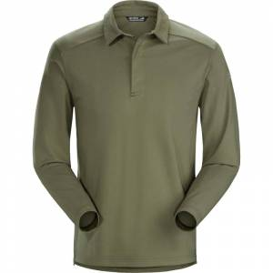 Arc'teryx Captive Longsleeve Polo Men's Grønn