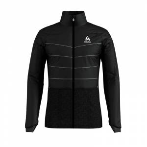 Odlo Men's Jacket Millennium S-Thermic Sort