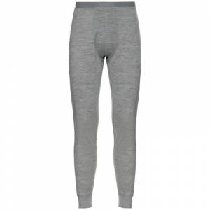 Odlo Men's Suw Bottom Pant Natural Merino Warm Grå