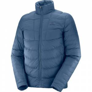 Salomon Men's Sight Storm Jacket Blå