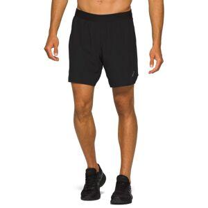 Asics Men's Road 2-in-1 7in Shorts Sort