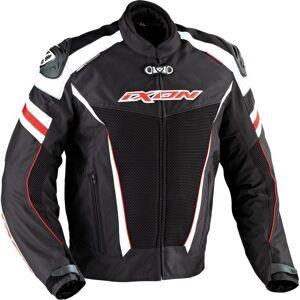 Ixon Typhon Race HP Tekstil jakke Svart Hvit Rød 2XL