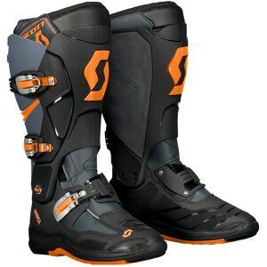 Scott 550 Motocross støvler Grå Oransje 42