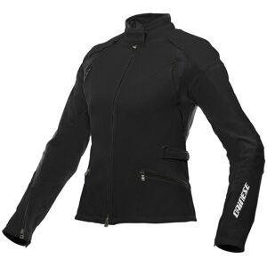 Dainese Arya Tex Ladies motorsykkel tekstil jakke Svart 52