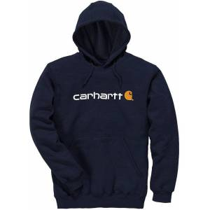 Carhartt Signature Logo Midweight Hettegenser Grå 2XL