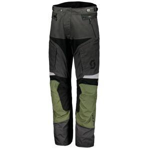 Scott Dualraid DP Motorsykkel tekstil bukser Grå Grønn XL
