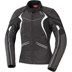 IXS Eileen Ladies tekstil jakke Svart Hvit M
