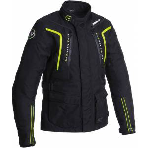 Bering Ralf Tekstil jakke Svart Gul XL