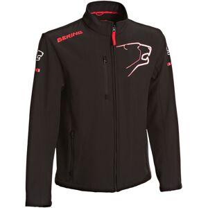 Bering BSG011 Softshell jakke Svart Rød S