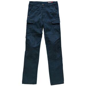 Blauer Stuart Cargo Canvas Motorsykkel tekstil bukser Blå 38