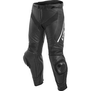 Dainese Delta 3 Motorsykkel skinn bukser Svart Hvit 50