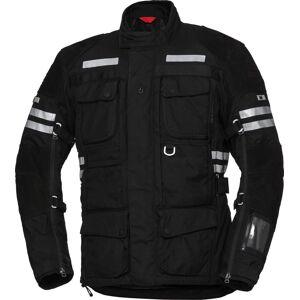 IXS X-Tour LT Montevideo-ST Motorsykkel tekstil jakke Svart 4XL