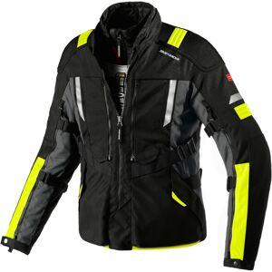 Spidi Modular Motorsykkel tekstil jakke Svart Gul 4XL