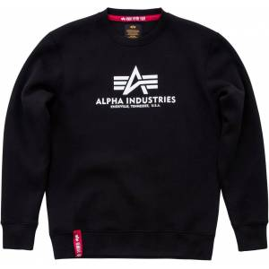 Alpha Industries Basic Sweatshirt Svart L