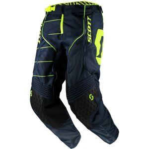 Scott Enduro Motocross bukser Blå Gul 32