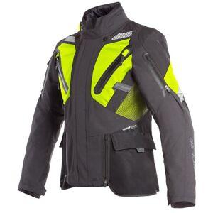 Dainese Gran Turismo GoreTex Motorsykkel tekstil jakke Svart Gul 60