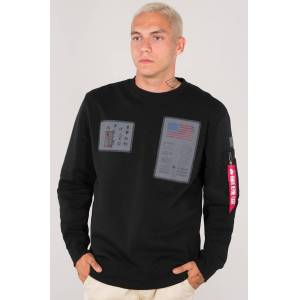 Alpha Industries Blood Chit Sweatshirt Svart S
