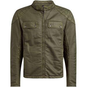Belstaff XMan Racing Motorsykkel tekstil jakke Grønn M