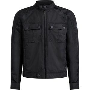 Belstaff Temple Motorsykkel tekstil jakke Svart L