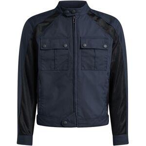 Belstaff Temple Motorsykkel tekstil jakke Svart Blå L