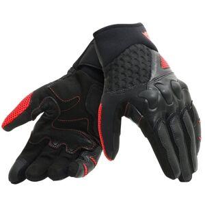 Dainese X-Moto Unisex Motorsykkel hansker Svart Rød S