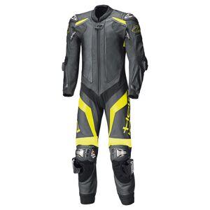 Held Race-Evo II Ett stykke Motorsykkel skinn Dress Svart Gul 56