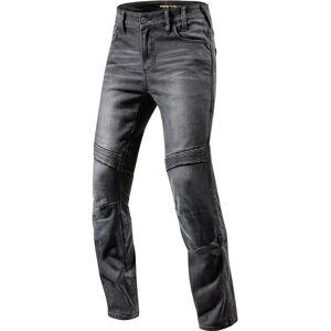 Revit Moto Motorsykkel Jeans Svart 38