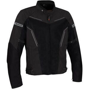 Bering Cancun Motorsykkel tekstil jakke Svart Grå L
