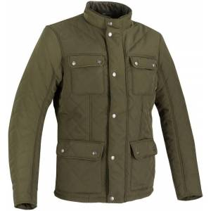 Bering Maximus Motorsykkel tekstil jakke Grønn Brun 3XL