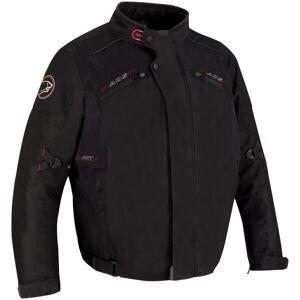 Bering Corleo Stor størrelse motorsykkel tekstil jakke Svart L
