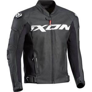 Ixon Sparrow Motorsykkel skinnjakke Svart Hvit S