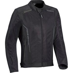Ixon Cool Air Motorsykkel tekstil jakke Svart XL