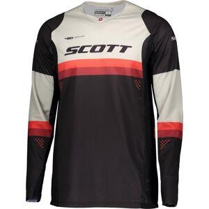 Scott 450 Podium Athletic Light Motocross Jersey Svart Rød XL