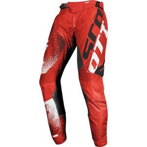 Scott 450 Noise Motocross bukser Svart Rød 32