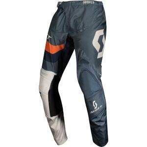Scott 350 Track Regular Motocross bukser Blå Oransje 38