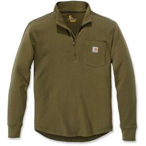 Carhartt Tilden Half Zip Sweatshirt Grønn S