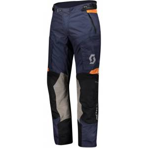 Scott Dualraid Dryo Motorsykkel tekstil bukser Blå XS