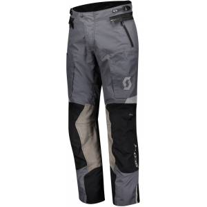 Scott Dualraid Dryo Motorsykkel tekstil bukser Svart Grå XL
