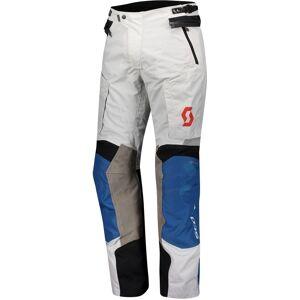 Scott Dualraid Dryo Motorsykkel tekstil bukser Grå Blå XL