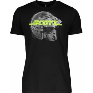 Scott 10 Moto S/SL Regular T-shirt Svart L